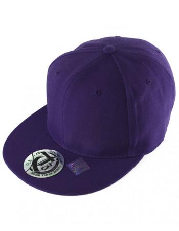 townz Visor Flat Cap purple
