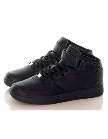 Hi Top Shoes Black
