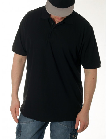 Access Plain Polo Black