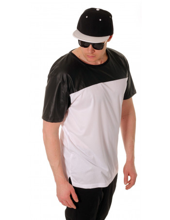 BlacknWhite Mesh Long JerseyTee