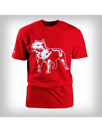 Amstaff Logo Shirt Red