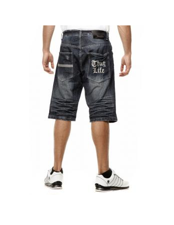 Thug Life Basic Sheet Denim Shorts