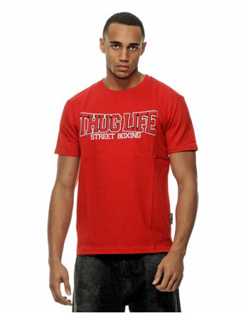 Thug Life Streetboxing Tee Red