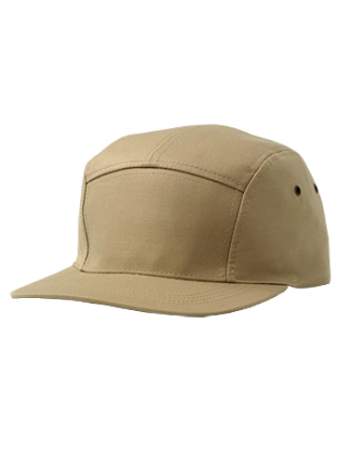 Solid Bike Cap Khaki