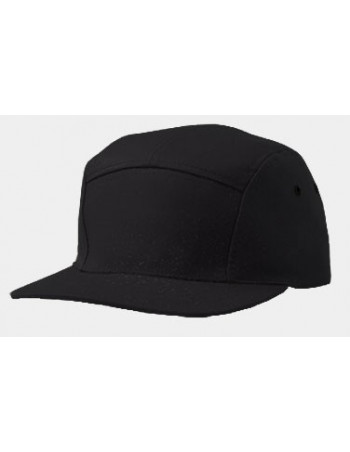 Solid Bike Cap Black