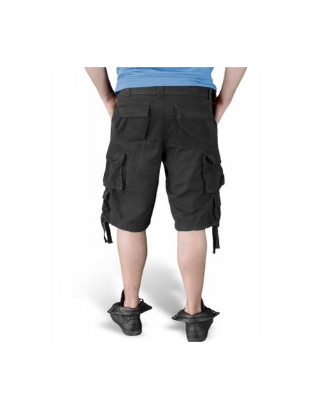 Surplus Division Shorts Black