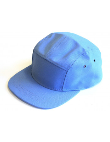 Solid Bike Cap Sky Blue