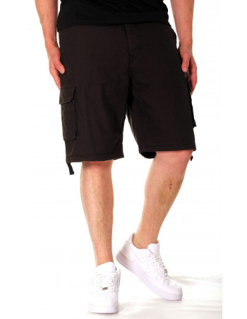 Surplus Black Washed Shorts