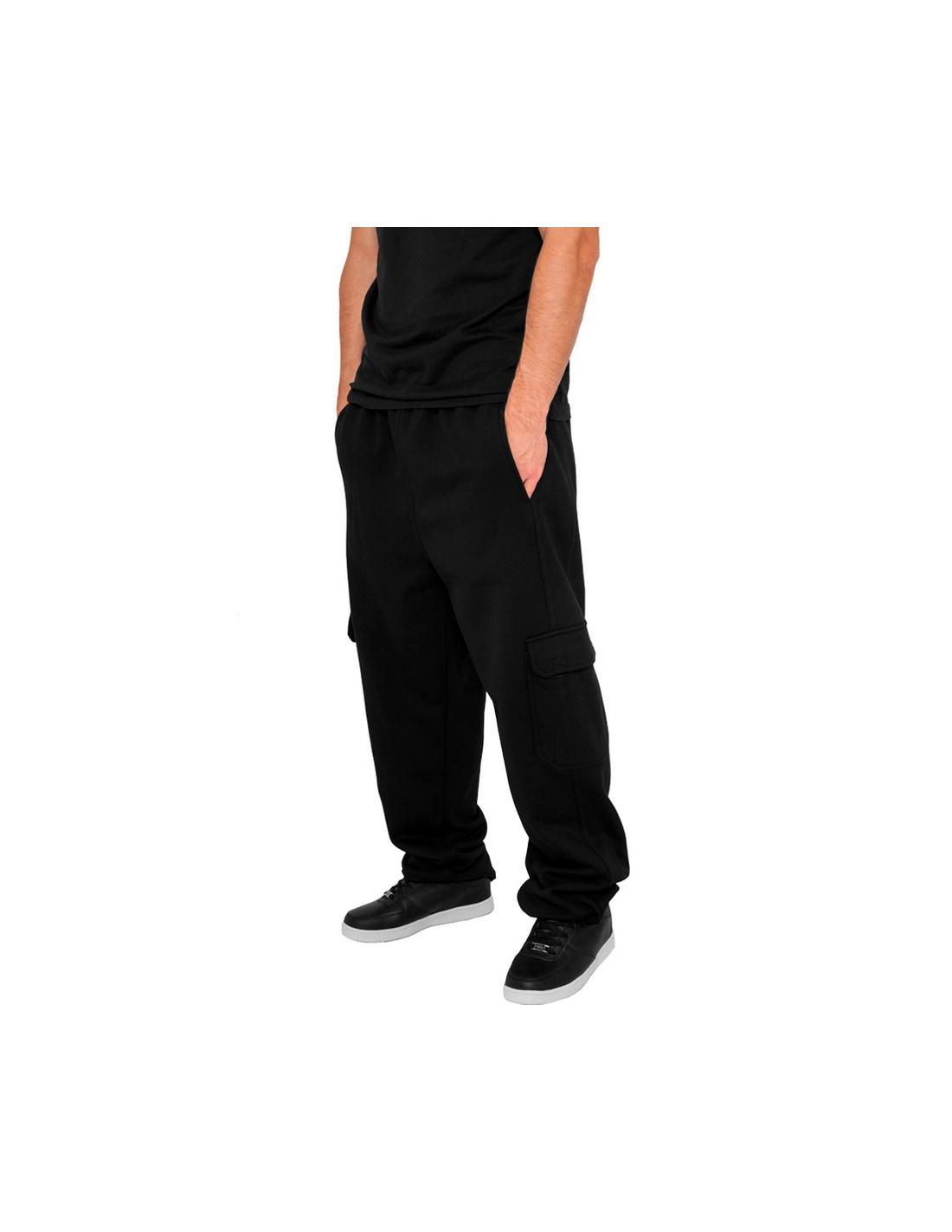 Urban Cargo Sweatpants Black