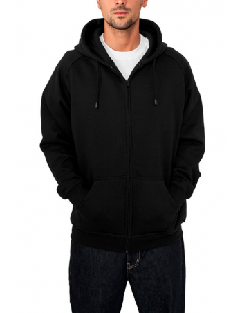 Urban Zip Sweat Hoodie Black