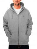 Urban Zip Sweat Hoodie Grey
