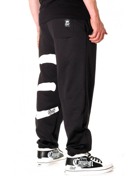 Bsat Eazy E Sweatpants Black Rudecru Com