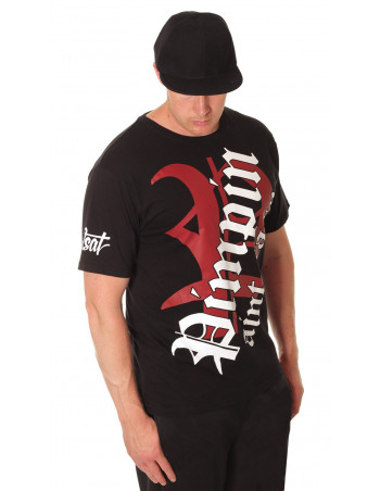 BSAT Pimpin Blk/Red/White Tee