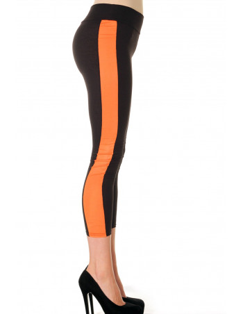 Black Orange Leggings