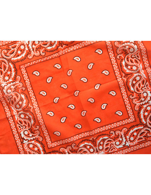 Bandana Orange Red