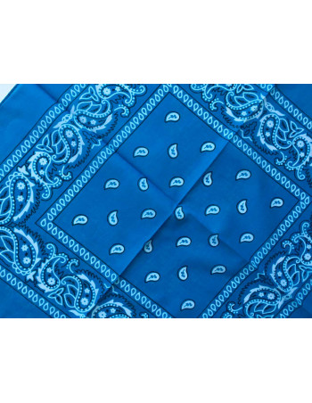 Bandana Chintz Blue