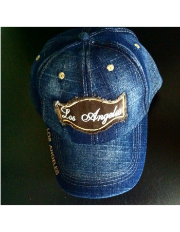 Los Angeles Denim Vintage Fashion Cap/Blue