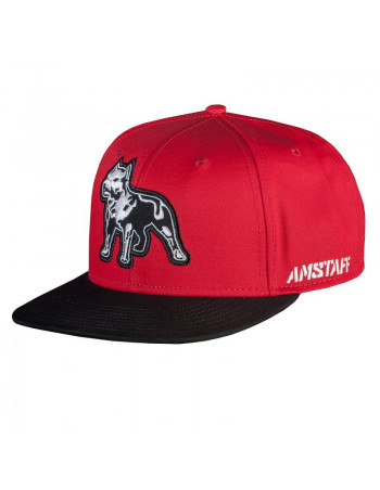 Timus Snapback Cap Red/Black