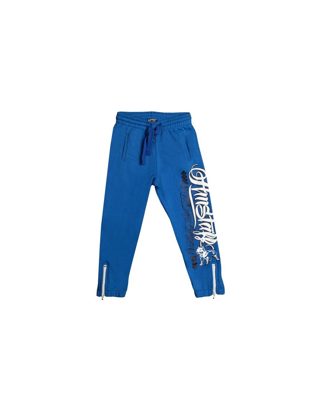 Amstaff Kids Zeru Sweatpants Blue