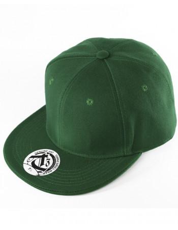 townz Visor Flat Cap celtic green