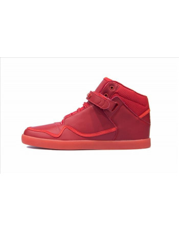 Cultz Hi-top Red Sleek sneaker