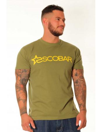 Escobar Logo T-Shirt Olive/Yellow