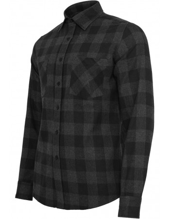 Checked Flanell Shirt Black/Charcoal