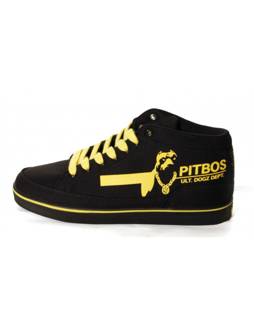 Doggz Dept. Black/Yellow Sneakers from Pitbos5.515