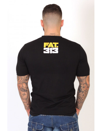 FAT313 Glory T-shirt YellowNWhite