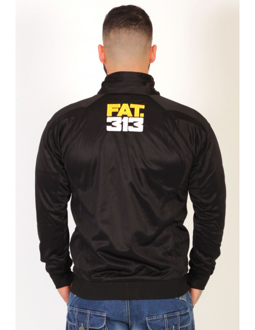 FAT313 Glory Track jacket YellowNWhite