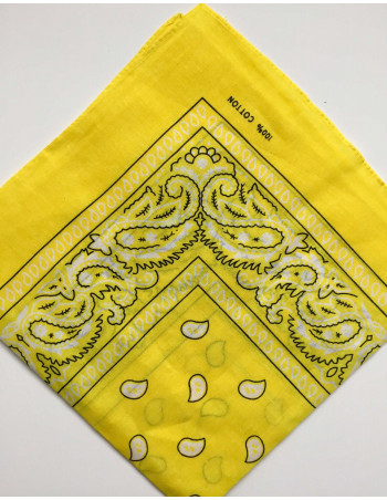 Townz Bandana Yellow