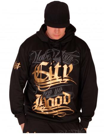BSAT Hood Black Hoodie