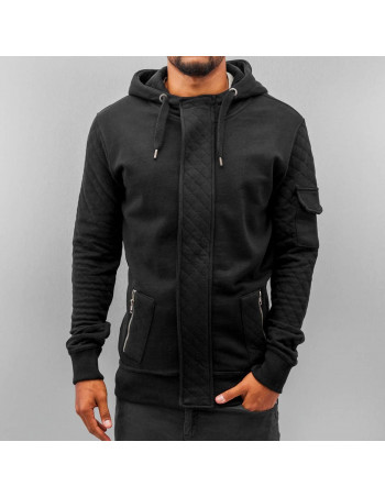 Just Rhyse Step Zip Hoodie Black