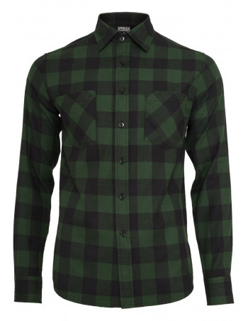 Checked Flanell Shirt Black Forrest