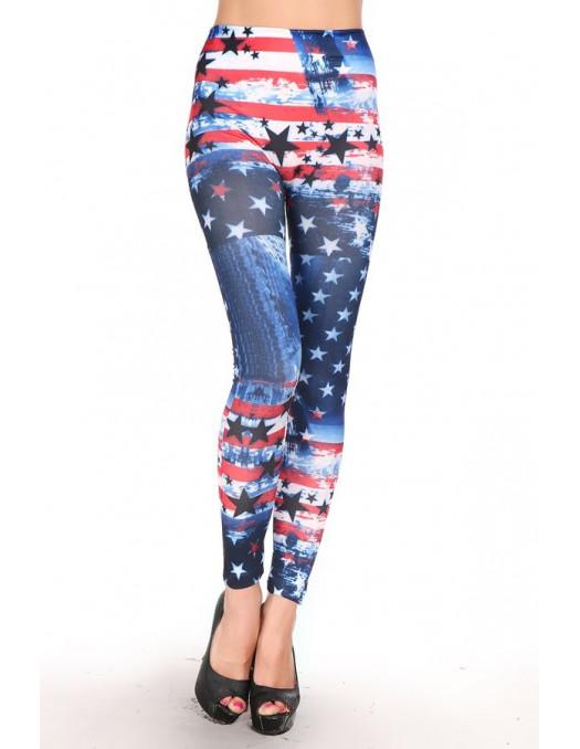 US Flag Leggings