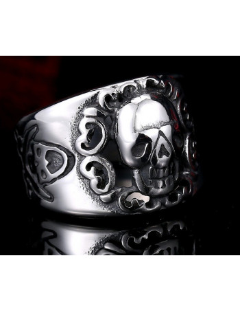 Smile Skull Ring
