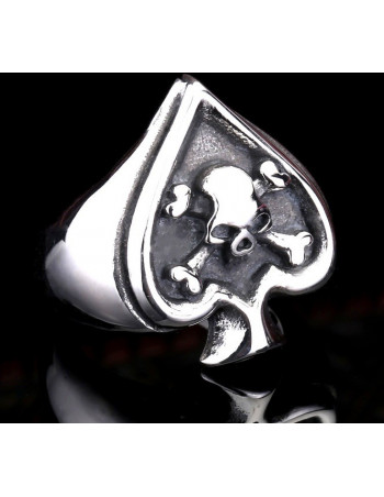 RebelHeart Skull Ring