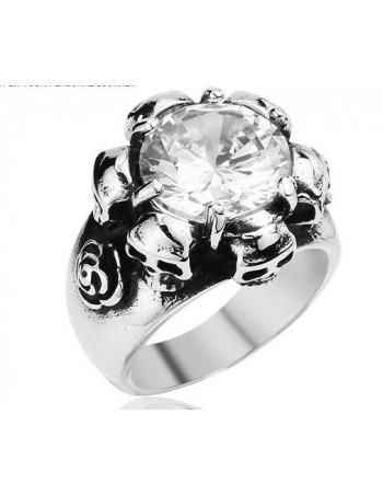 Bling Skull Ring