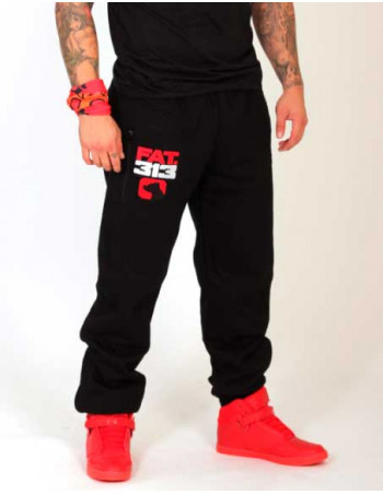 FAT313 Superior SGT Sweatpants RedNWhite