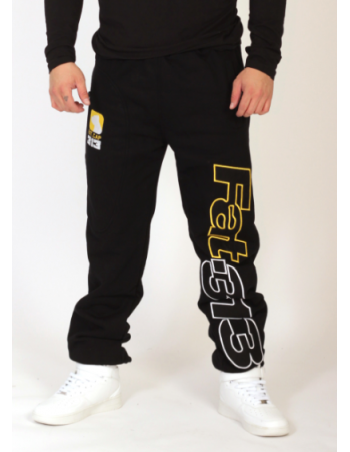 FAT313 Ultimate League Sweatpants YellowNWhite