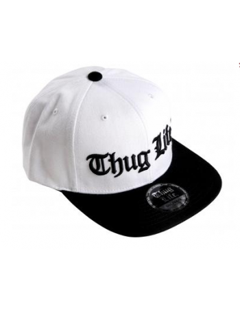 Thug Life Cap WhiteNBlack