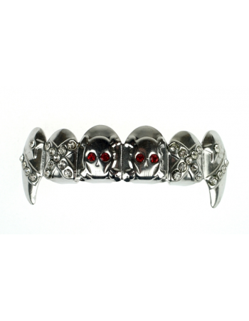 Partners in Crime Grillz Rhodium