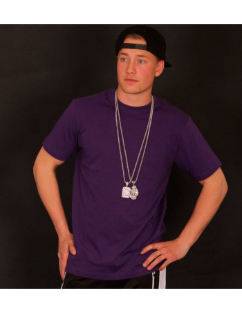 Access C-Neck Tee Purple