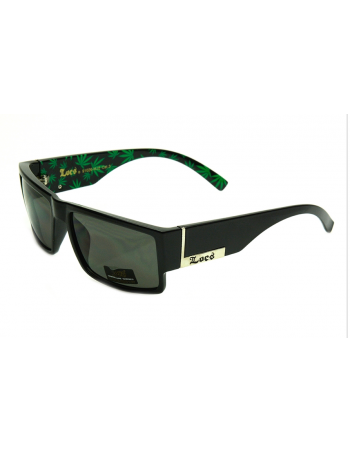 LOCS Sunglasses Green Weed