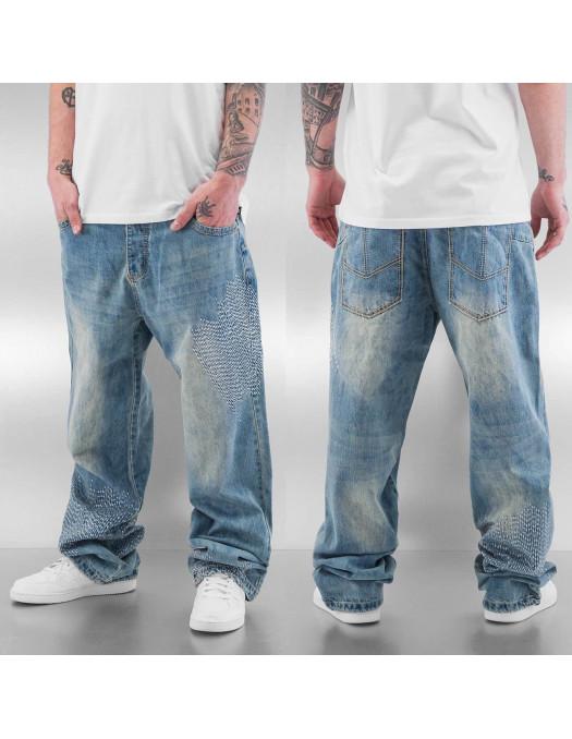 DNGRS Baggy Stitch Jeans Light Blue