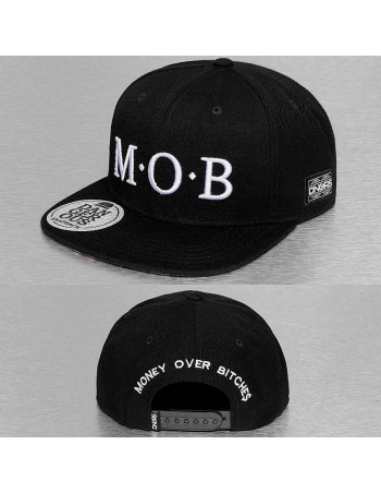 M.O.B Money Over Bitches Cap Black