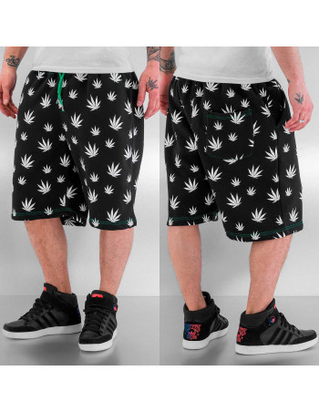 Just Rhyse Hemp Shorts Black