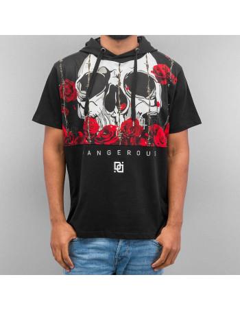 DNGRS Skull Hooded T-Shirt