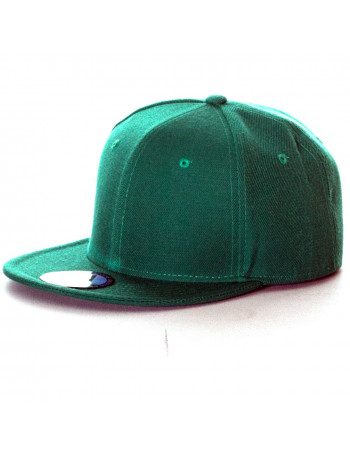 Green Fitted Cap by Access Apparel