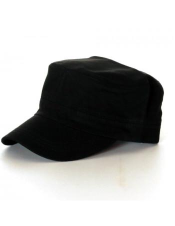 Vintage Plain Cap/Black